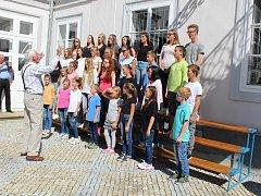 Ze slavnostního zahájení školního roku ZUŠ Tachov.