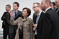 Ministryně pro státní a evropské záležitosti Bavorska Emilie Müller zavítala v rámci své pondělní návštěvy západních Čech na Tachovsko.