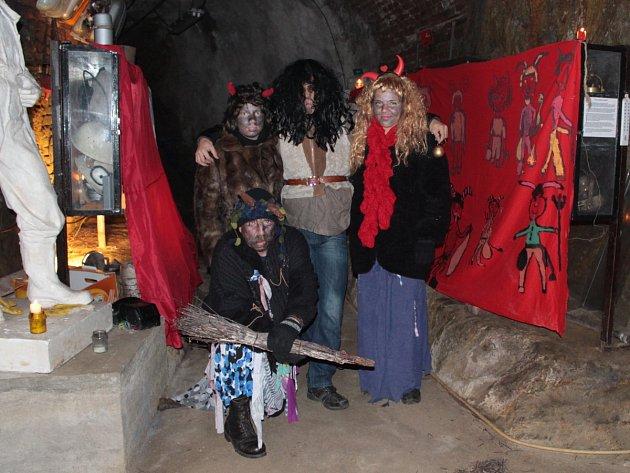 V předvečer Mikuláše se nadělovalo také v městě s hornickou tradicí