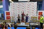 Mladí kickboxeři tachovského E.H. Security přivezli z Czech Open medaile všech tří barev.