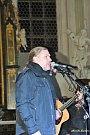 Petr Kolář nadchl publikum v kostele kladrubského kláštera.