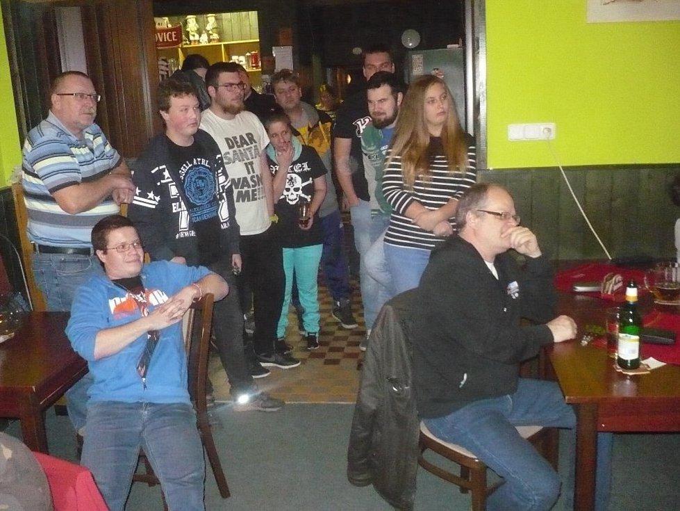 Ze sobotního turnaje U Vodníka.