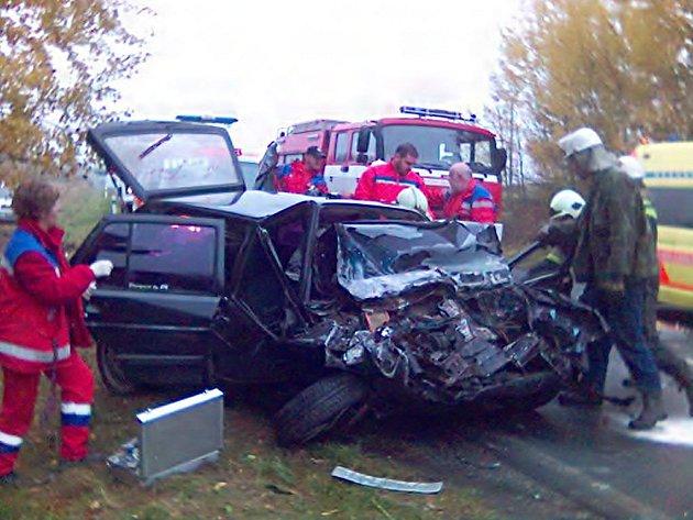 Nehoda u Svaté Kateřiny.