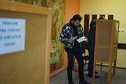 Fotografie z volebního okrsku číslo 6