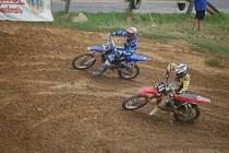 Závod seriálu Motocyklového Sportu Praha v motokrosu