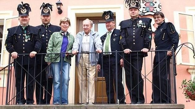 Skupina stříbrských horníků byla jedinou oficiální českou delegací na hornických slavnostech v Banské Štiavnici.