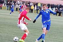 Mužstvo FK Tachov prohrálo s favorizovanými Jirny 0:1.