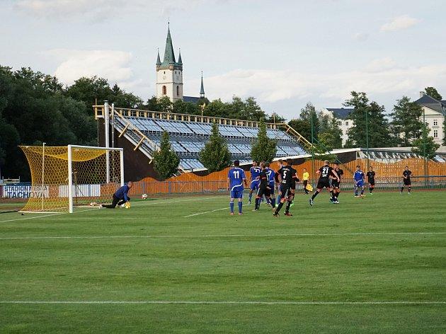 Fotbalistům z Tachova se povedlo i třetí příprávný zápas dovézt do vítězného konce.
