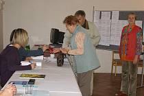 Volby do Evropského parlamentu ve Stříbře.