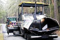 Oprava silnice z Kladrub do Zhoře