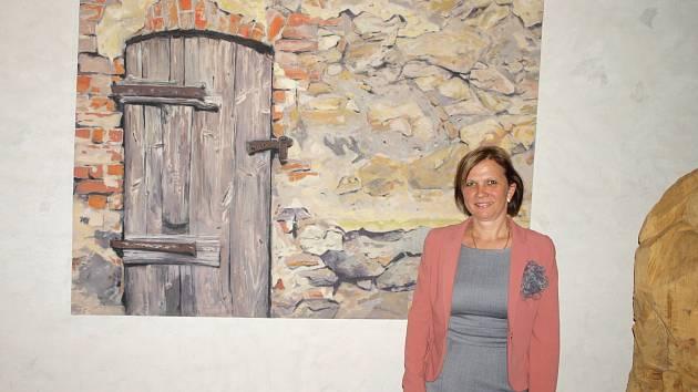 Helena Vendová v plánském kostele Petra a Pavla