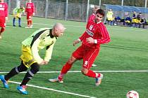 Stříbrští fotbalisté vedou po podzimu 1. A třídu a poctivě se připravují na jarní boje.