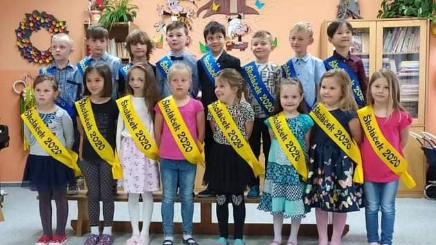 Budoucí školáci ze Sadové.