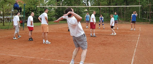 Turnaj v tenise.