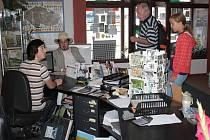 Informační centrum v Tachově.