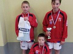 Nohejbalisté stříbrského Baníku skončili v barvách české reprezentace druzí na silně obsazeném turnaji.