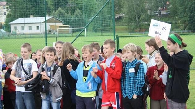 Letní hry žáků českých a německých škol se uskutečnily ve středu v Tachově