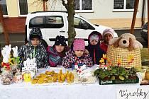 Velikonoční trhy v Kladrubech pomáhají i keňské dívce.