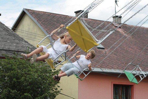 V Lestkově se o víkendu konala pouť.