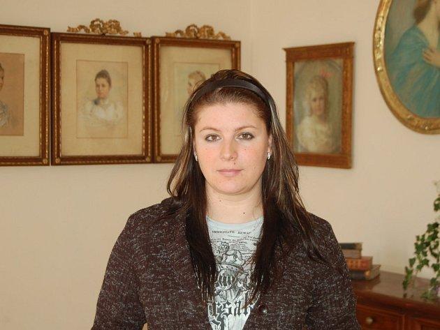 Kastelánka borského zámku Galina Marianna Kortanová.