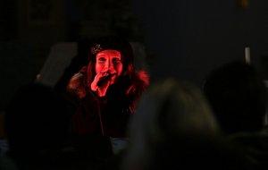 Na druhou adventní neděli vystoupila Bára Zemanová s tematickým repertoárem v Milířích