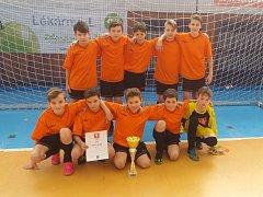Mladí fotbalisté byli úspěšní na turnajích v Chebu a ve Skalné.