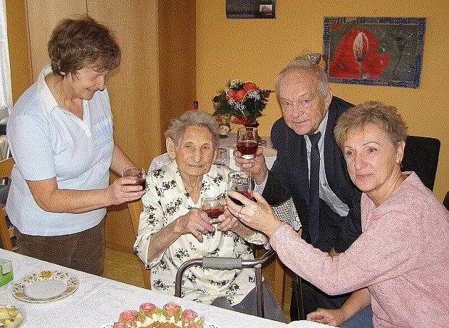 Nejstarší občance Stříbra je devadesát devět