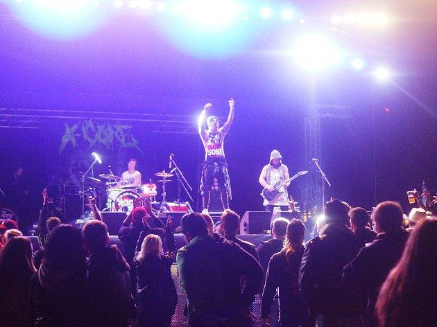 O víkendu se uskutečnil v pořadí osmý ročník rockového festivalu Tarock.