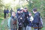 Žáci vyrazili na ornitologickou procházku.