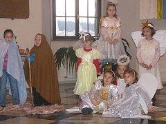 Děti připomněly narození Ježíše