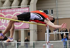 Výškař Sedlák skončil na výborném druhém místě.