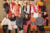 Stříbrští ochotníci se o víkendu nudit nebudou. Návštěvníci setkání je mohou potkat na několika místech.