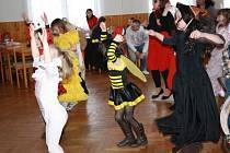Dětský karneval se konal v sobotu v kulturním domě v Halži