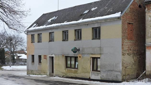 Hospoda v Lestkově, kde došlo k incidentu.
