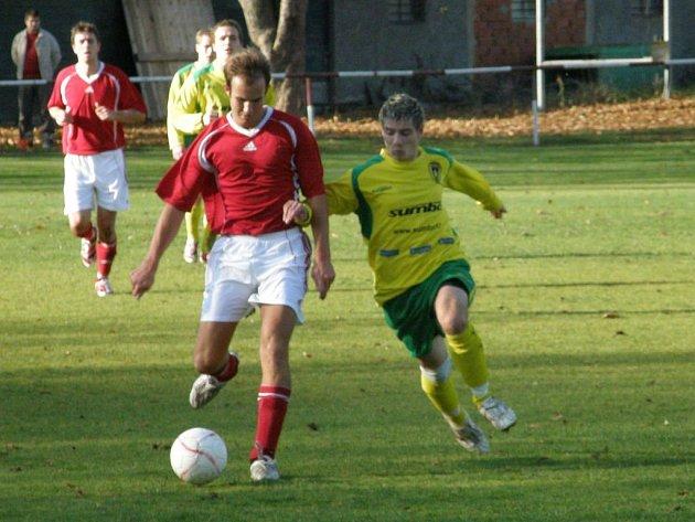 Fotbal–1. A třída: VD Luby – B. Stříbro 1:0