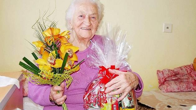 Doslova vánočním dárečkem byla před lety Marie Hrůzová z Tachova.