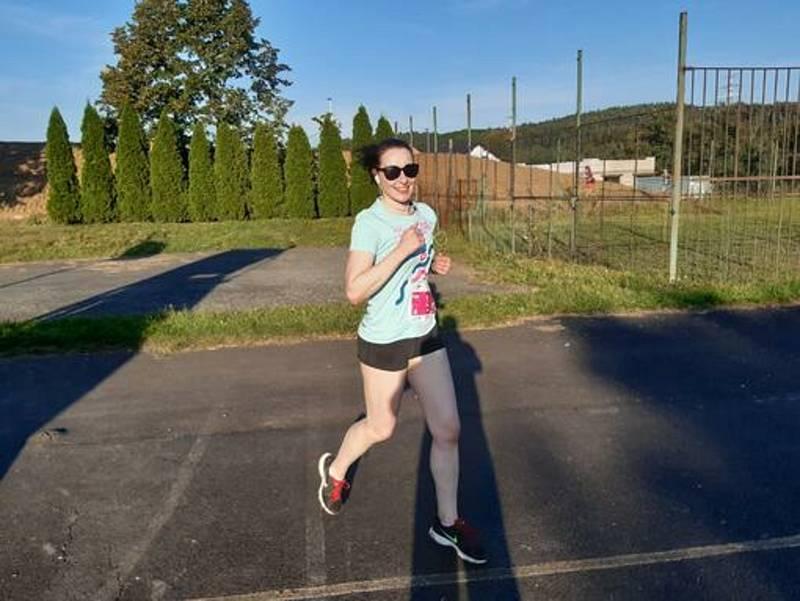 Olympijský běh Stříbrem 2021.