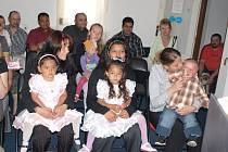 V Ošelíně přivítali sedmičku nových občánků
