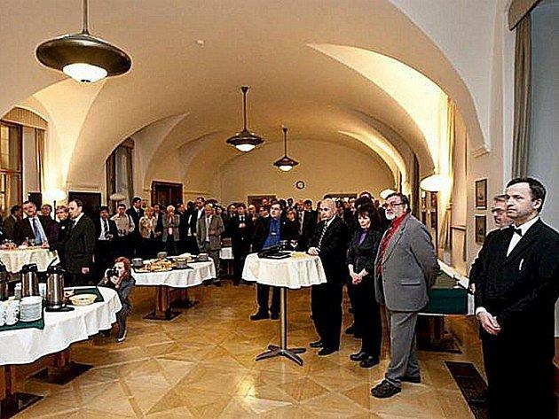 Tachovský deník se účastnil novoročního setkání senátorů se zástupci sdělovacích prostředků.