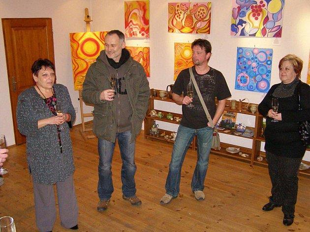Ve Stříbře můžete navštívit výstavu malířky Ludmily Krstevové.