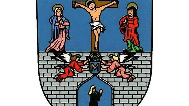 Erb města Kladruby u Stříbra.