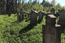 Starý židovský hřbitov u Řešína.