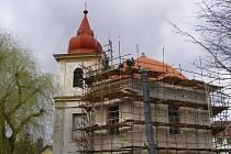 Kaple v Ostrově je v rekonstrukci
