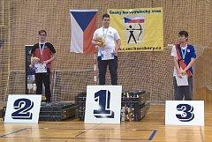 Stupně vítězů, Lukáš Sponner první zleva.