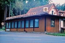 Restaurace Kadrnožka v dobách své největší slávy.