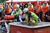 Mladí hasiči se utkali v sobotu dopoledne na kladrubském fotbalovém hřišti v rámci soutěže Kladrubská studna.