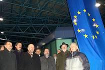 Půlnoc z 20. na 21. prosince na hraničním přechodu Rozvadov.