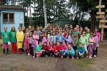 Letní dětský tábor v Boněticích