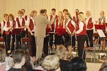 Dechový orchestr mladých Tachov.