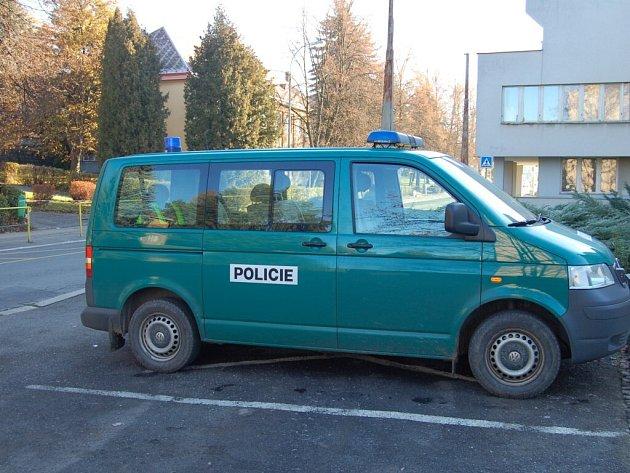 Evakuace ZŠ v Hornické ulici v Tachově.